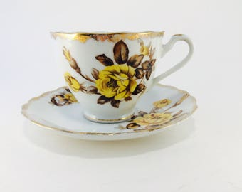 Cup and Saucer, Japan, Handcrafted