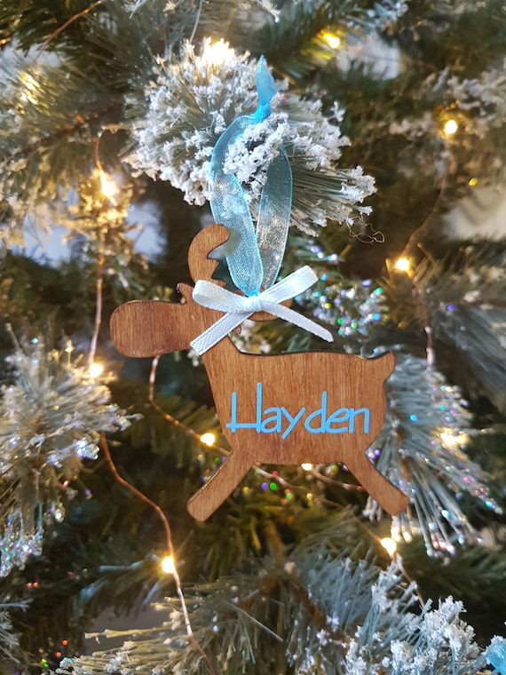 Baby//Childrens Special Occasions Personalised Ornaments//Decorations