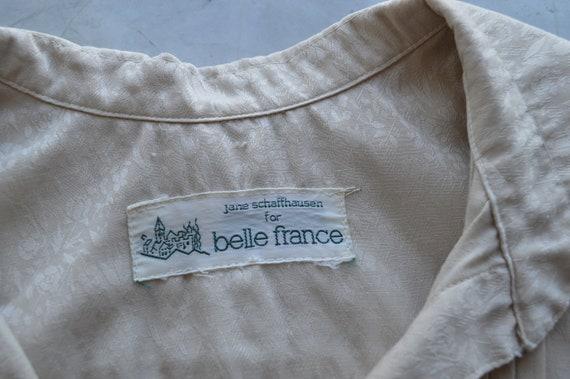 Françoise peasant blouse - vintage 1970s romantic… - image 7
