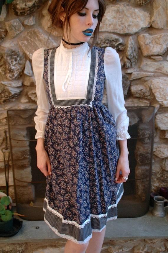 Gunne Sax Mini Prairie Dress