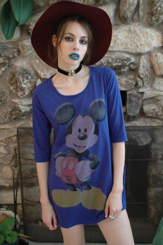 Vintage Mickey Mouse Dress / Shirt