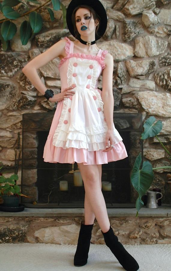 Tokyo Pink Lolita Mini Dress