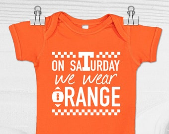 finest selection bdd7b 3b23c Tennessee Vols Baby Bodysuit   Vols Baby Gift   Tennessee Volunteers Baby  Clothes   Go Vols Bodysuit   Tennessee Baby Shower Gift