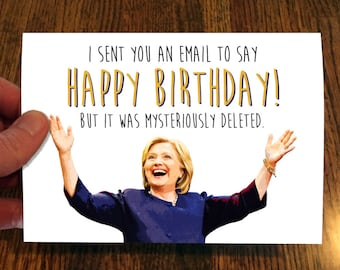 Hillary Clinton Card