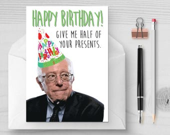 Hillary Disappearing Email Funny Birthday Card Political Etsy