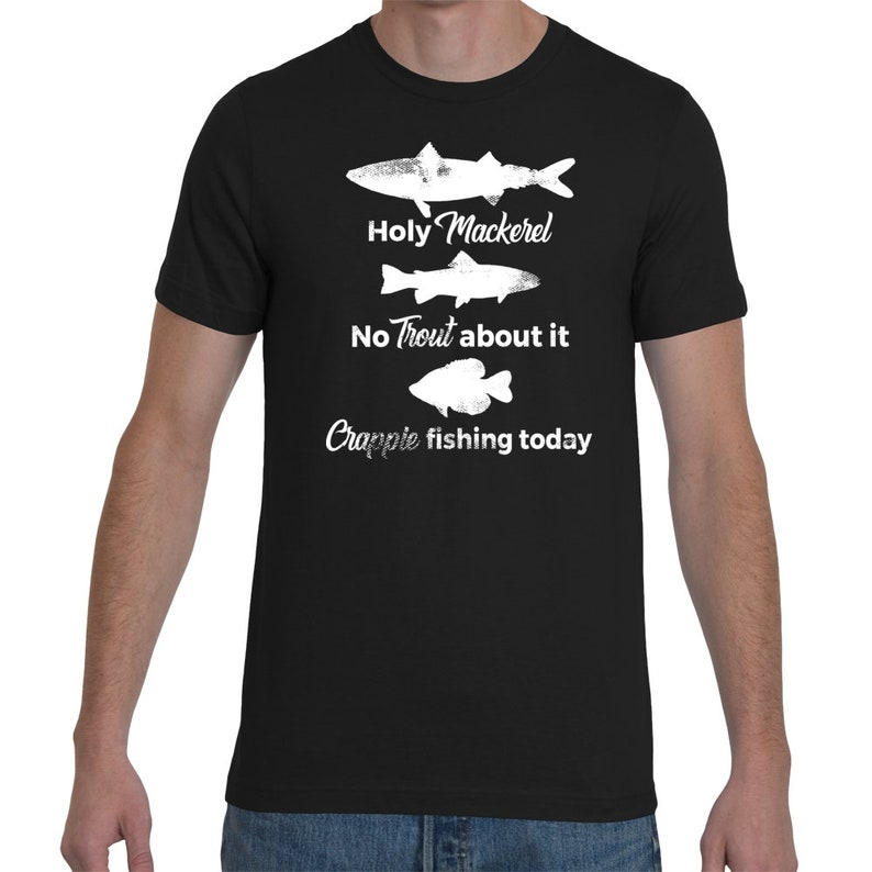 Holy Crappie New Fishing T-Shirt XL
