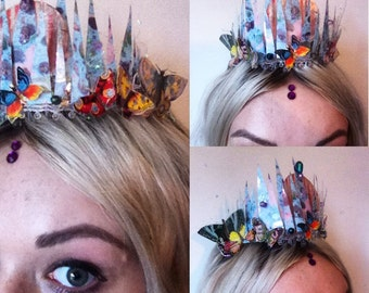Mermaid Butterly Crown