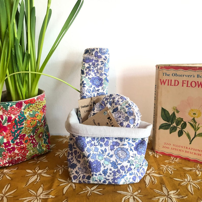 Liberty Fabric Gift Set  Pamper set  Mothers Day Pampering image 0