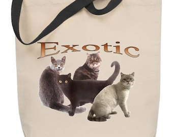 Exotic Cat Tote Bag