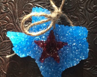 Texas star scent ornament
