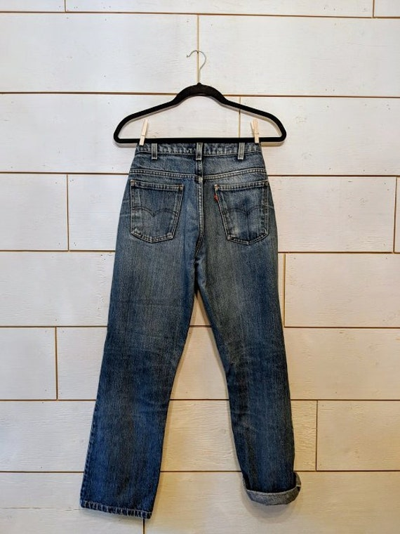 Vintage High Waisted Levis Jeans