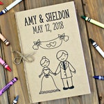Wedding Coloring Books, Wedding Activities, Kids Coloring Books, Kids Wedding Activity, Personalized Wedding Coloring, Activity Books