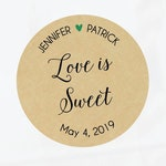 Love is Sweet Tags, Love is Sweet Label, Wedding Sweet Bags, Wedding Sweets Favors, Sweet Wedding Favor, Wedding Sweet Table, Sweet Labels