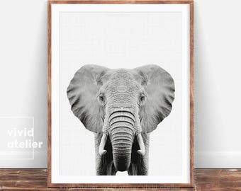elephant print etsy