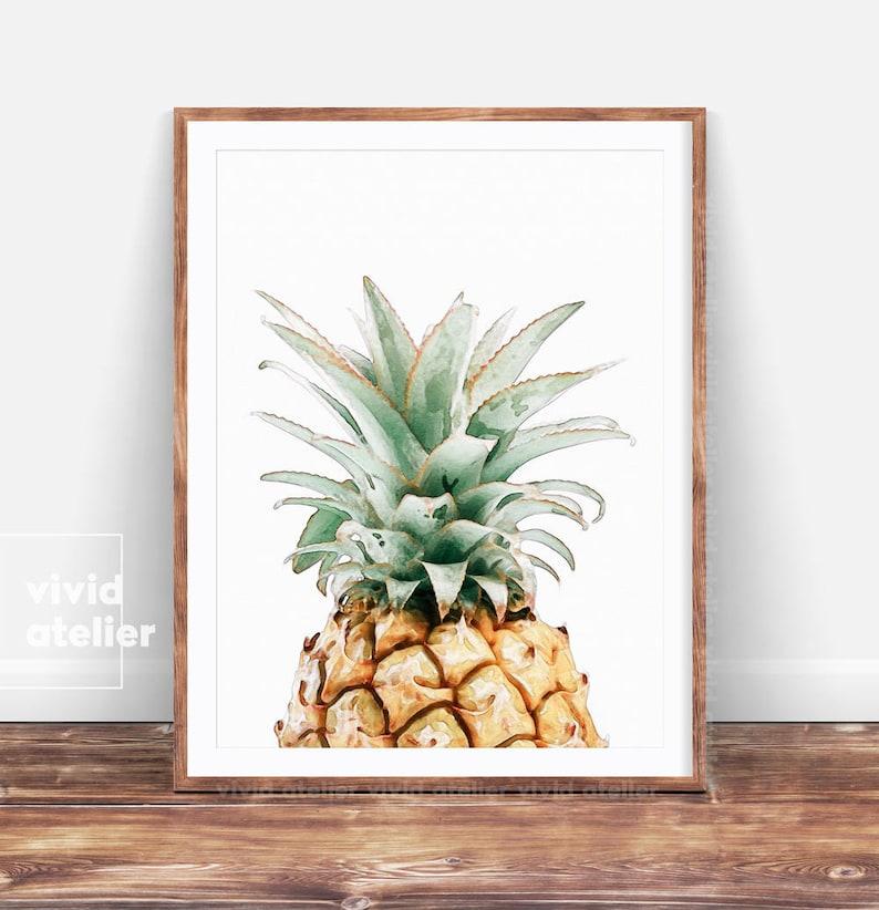 photo about Etsy Printable Wall Art identify Pineapple Print, Pineapple Wall Artwork Prints, Printable Kitchen area Decor, Botanical Print, Tropical Watercolor Print, Printable Wall Artwork, Posters