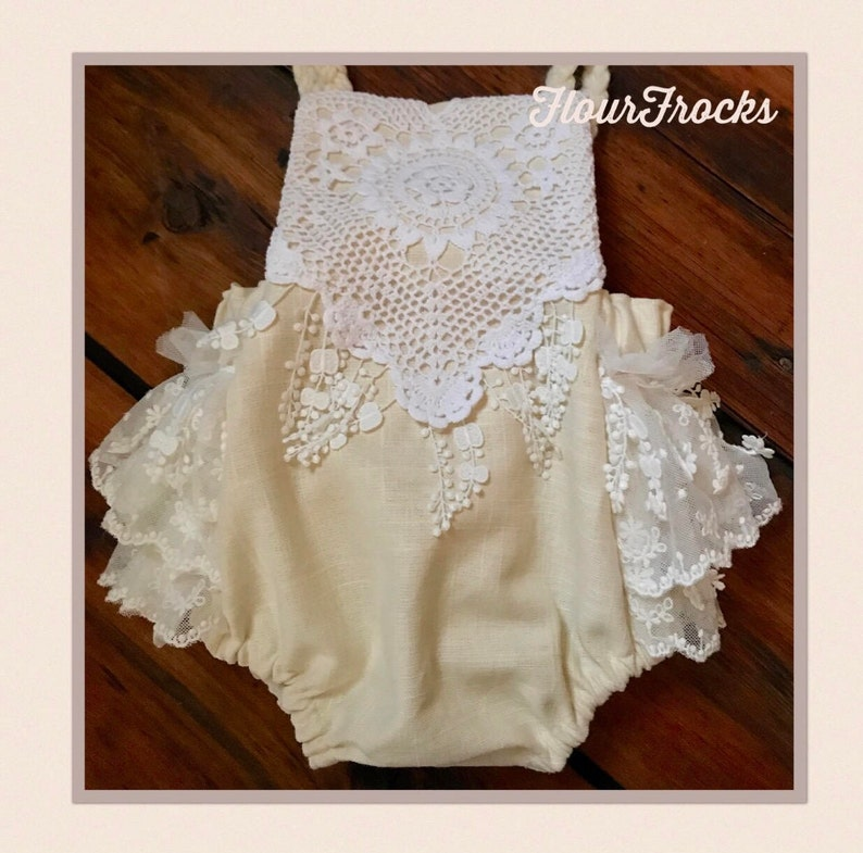 0b526c63462 Baby girl Romper Baby Girl Clothes Baby Romper Photography