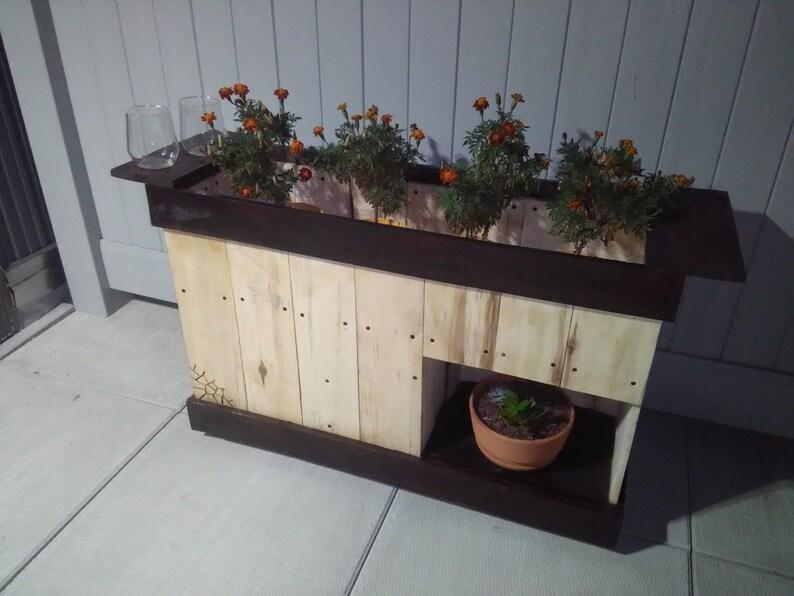 Pallet Planter Indoor/Outdoor image 0