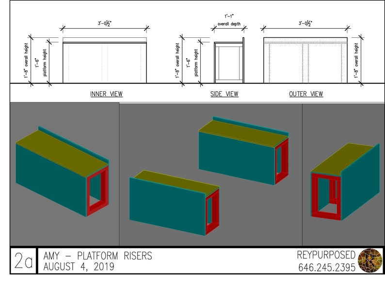 Platform Riser Prototype For Amy image 0
