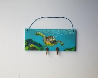 Turtle Key Rack Etsy