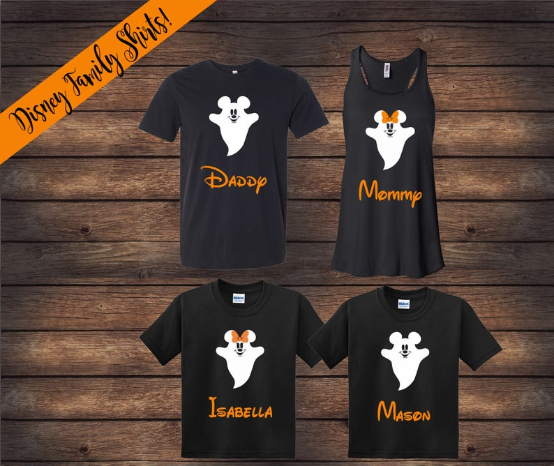 Disney Halloween Shirts Etsy.Disney Halloween Family Shirts Disney Ghost Shirts Halloween Disney Shirts Matching Family Shirts Disney Shirts Halloween Shirts