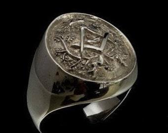Freemason ring | Etsy