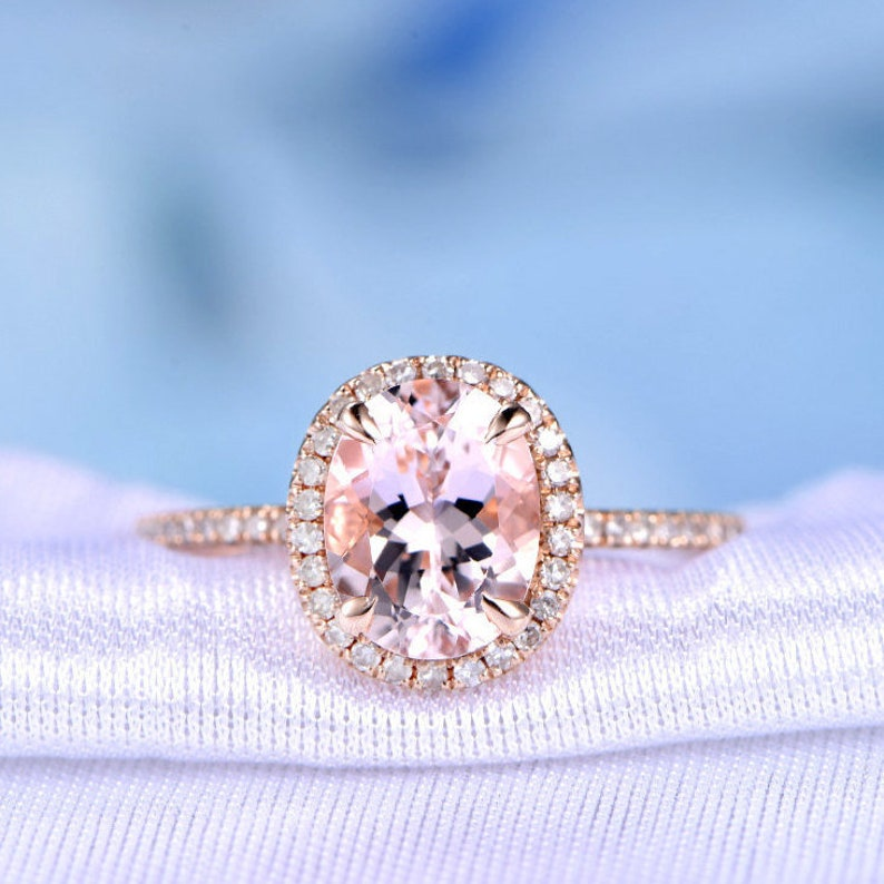 Diamond 0.25 Ct 14k Oro Giallo Diamante Taglio Rotondo Naturale 5 Stone Halo Fede