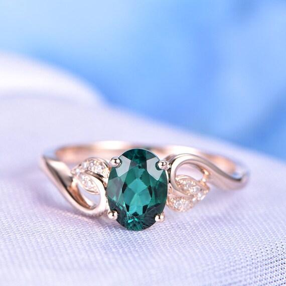 Green Gem Ring