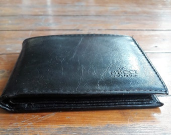 a627fa21159 Leather Gucci Mens Wallet