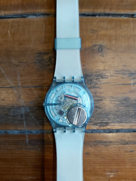 Vintage Rainbow Swatch Watch - image 9
