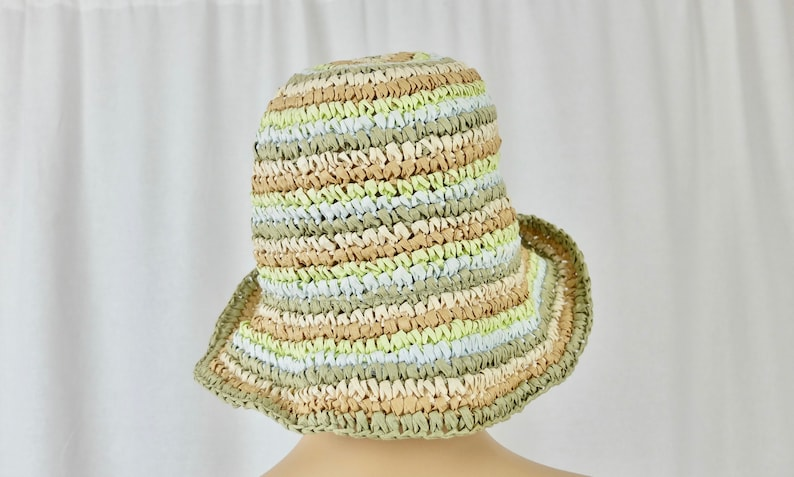 Vintage 1980/'s Straw Summer Hat