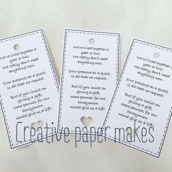 Poème Dargent Cadeau De Mariage Tags Lune De Miel Demande Faveur De Carte De Mariage Lune De Miel Quatre Cartes De Souhaits Cartes Cadeaux