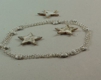 Necklace and Bracelet Dandelion's heart