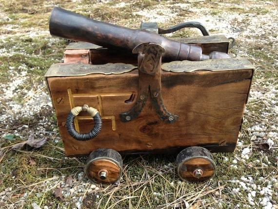 Steampunk Inspired Black Powder Cannon