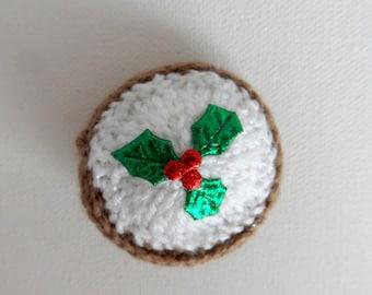 CHRISTMAS MINCE PIE FERRERO ROCHER CHOCOLATE COVERHOLDER Choose KNIT or CROCHET
