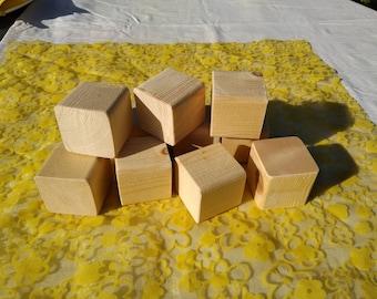 Plain wooden cubes//blocks for decoupage//craft approx 5x5 cm 1 Pound per block