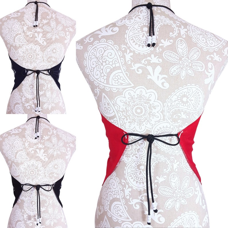 One Size New Casual Style Shirt Womens Clothing Bandana Halter Top Shirt Red Navy Blue /& Black