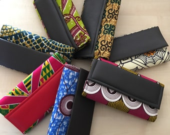 African Print Clutch Bag Large and Small/ Pochette Africaine