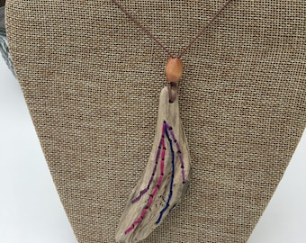 Driftwood Necklace / Natural Necklace / Boho Necklace / Bohemian Necklace /