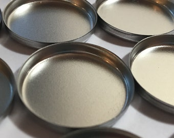 Empty Eyeshadow Pans - 26mm Eye Shadow Pans - Magnetic Tin Eye Shadow Pans