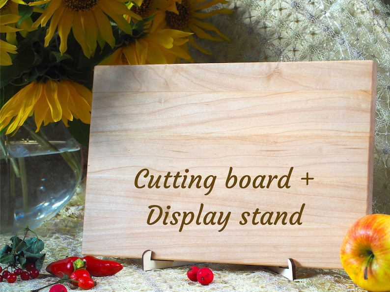 Housewarming Gift Wedding Gift for couple Wedding Gift Wedding cutting board gift for anniversary Wooden cutting board
