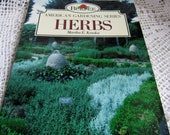 Burpee American Gardening Herbs Book We also have Corn Bags, Baby Quilts, Dog Quilts, Quilt Art, Tea Cups, plus more vintage treasures