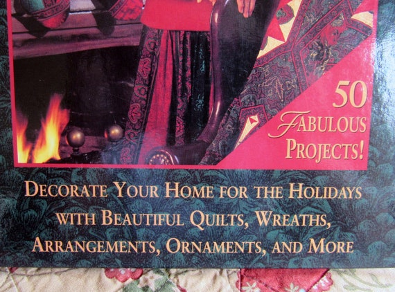 Wreaths and More Christmas with Jinny Beyer: Decorate Your Home for the Holidays with Beautiful Quilts Ornaments Arrangements