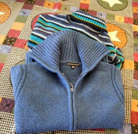 Vintage Carolyn Taylor and Real Comfort Sweaters!
