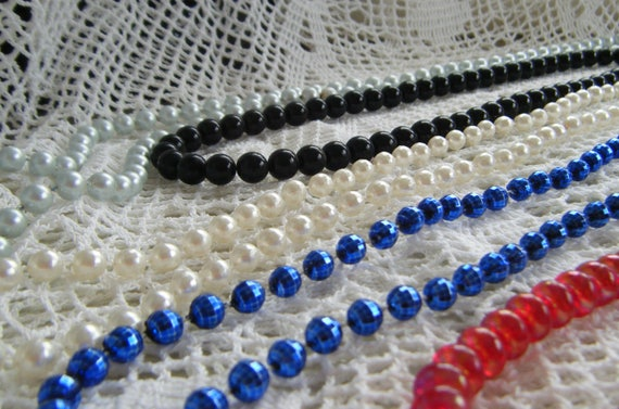 Vintage Beaded Necklace Collection!  We also have
