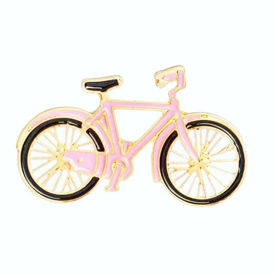 Pin Badge or Lapel Pin Gift for Bicycle Rider Mountain Bike Road Cyclist Present Stocking Filler Wedding Idea