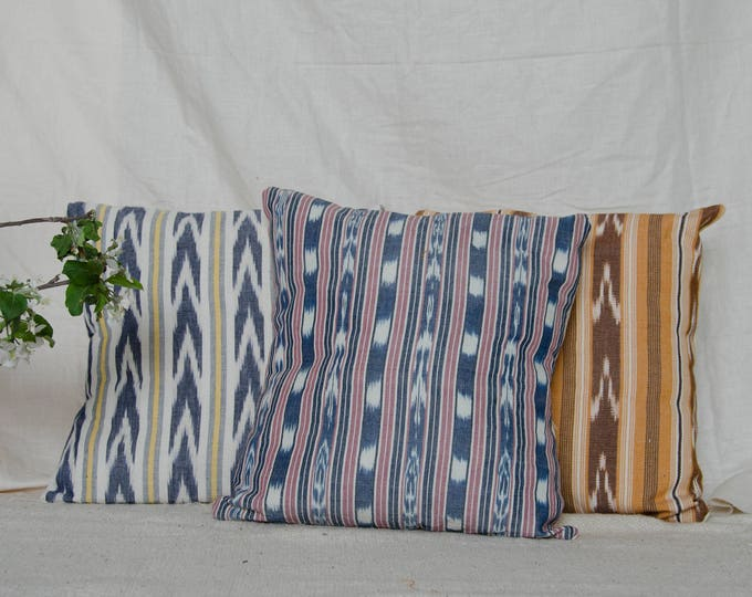 "Decorative cushion cover 18 x 18"" Guatemalan fabrics"