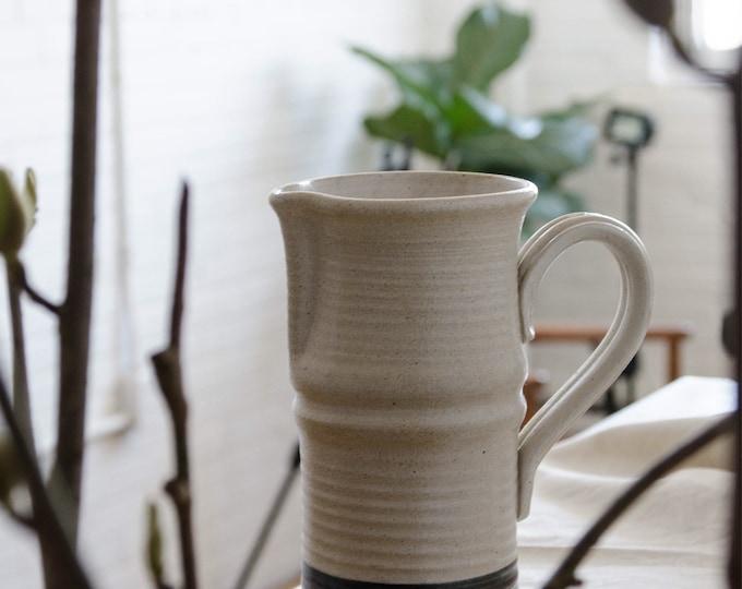 Vintage Ceramic Pitcher. Vintage pottery.