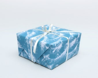Waves Wrapping Paper