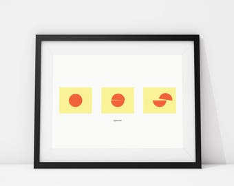 Splitsville - Archival Quality Giclee print A4/A3