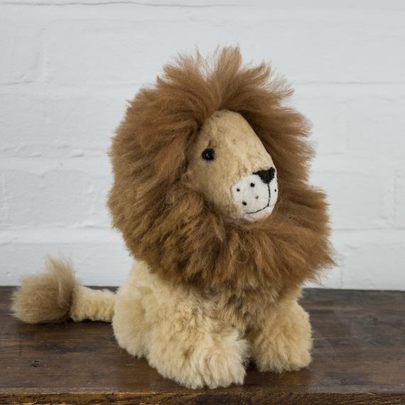 Brown Lion Details about  /Alpaca stuffed animals
